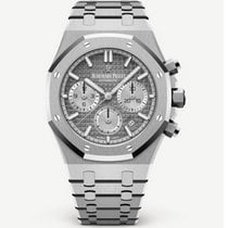 Audemars Piguet Сталь Автоподзавод Cерый 38mm новые Royal Oak Chronograph