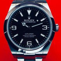 Rolex Explorer Steel 39mm Black Arabic numerals United States of America, New York, Troy