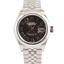 Rolex Lady-Datejust Stahl 28mm Grau