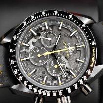Omega Speedmaster Professional Moonwatch Céramique 44.25mm Noir Sans chiffres