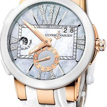 Ulysse Nardin Executive Dual Time Lady Rose gold Mother of pearl