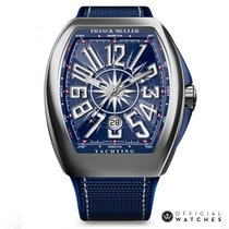 Franck Muller Steel 44mm Automatic V 45 SC DT YACHTING AC BL new