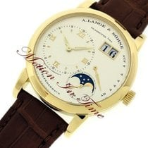 A. Lange & Söhne Lange 1 Yellow gold 38.5mm Champagne Roman numerals United States of America, New York, New York