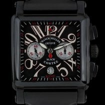 Franck Muller pre-owned Automatic 45mm Black Sapphire Glass