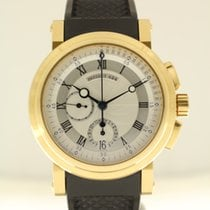 Breguet Marine Geelgoud 42mm Zilver Romeins Nederland, The Netherlands