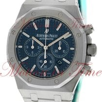 Audemars Piguet Royal Oak Chronograph, Blue Dial - Stainless...