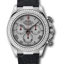 Rolex Used 116589RBRmt_used_meteorite White Gold Daytona on...