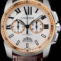 Cartier Calibre de Cartier Chronograph Stahl 42mm Silber Römisch Deutschland, Berlin