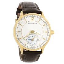 Movado Circa Motion Smart Mens White Dial Swiss Quartz Watch...