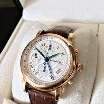 Montblanc Star Chronograph GMT Automatic 18k Solid Red Gold