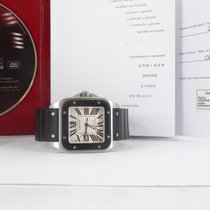 Cartier Santos 100 XL (full set and new strap)