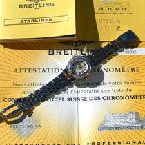 Breitling B71340 Gold/Steel 2009 Starliner 30mm pre-owned