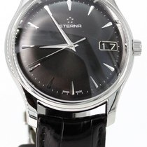 Eterna 42mm Automatic pre-owned Vaughan Black