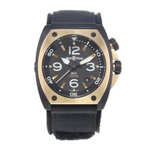 Bell & Ross BR 02 BR02 PINKGOLD CA usados