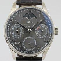 IWC Portuguese Perpetual Calendar 2009 B+P NEW IWC SERVICE