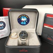 Omega 42mm Elle kurmalı 2006 ikinci el Speedmaster Professional Moonwatch Siyah