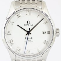 Omega De Ville Co-Axial Staal 41mm Zilver Romeins Nederland, The Netherlands