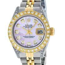 Rolex Lady-Datejust Steel 26mm Mother of pearl