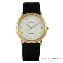 Blancpain Villeret Ultra-Slim pre-owned 34mm White Leather