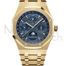 Audemars Piguet Royal Oak Perpetual Calendar Oro amarillo 41mm Azul