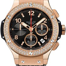 Hublot Big Bang 44 mm Ouro rosa 44mm Preto