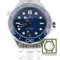 Omega Seamaster Diver 300 M new 2019 Automatic Watch with original box and original papers 210.30.42.20.03.001