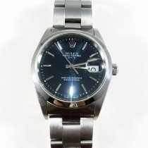 Rolex Oyster Perpetual Date pre-owned 34mm Date Steel