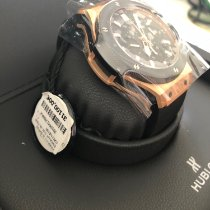 Hublot Rose gold Automatic Black No numerals 44mm new Big Bang 44 mm