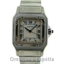 Cartier Santos Galbée 1564 W20018D6 2000 подержанные