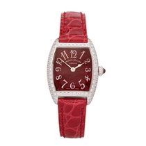 Franck Muller Women's watch Cintrée Curvex 22mm Quartz pre-owned Watch with original box 2000