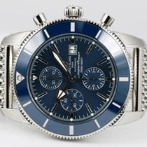 Breitling Superocean Héritage II Chronographe Steel 46mm Blue No numerals United States of America, New Jersey, wayne