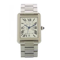 Cartier Tank Solo Steel 41mm White Roman numerals