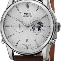 Oris Artelier Worldtimer Steel Silver United States of America, New York, Brooklyn
