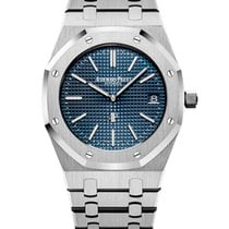Audemars Piguet Royal Oak Jumbo new Automatic Watch with original box and original papers 15202ST.OO.1240ST