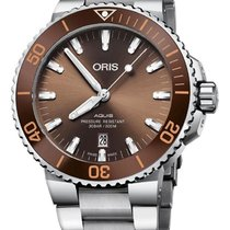 Oris Aquis Date Steel 43.5mm Brown United States of America, California, Moorpark