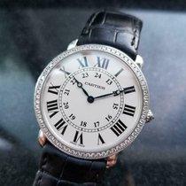 Cartier Weißgold 37.5mm Handaufzug gebraucht