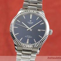 Tudor Style Steel 41mm Blue