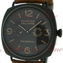 Panerai Aluminum Manual winding Brown Arabic numerals 47mm pre-owned Special Editions
