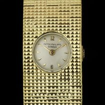 Patek Philippe Vintage Yellow gold 18mm Silver