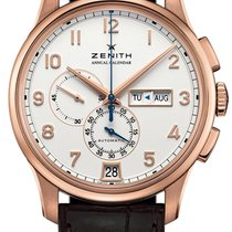 Zenith El Primero Winsor Annual Calendar Rose gold Silver United States of America, New York, Brooklyn