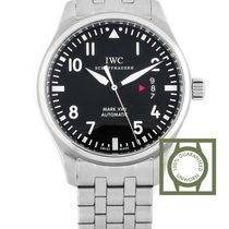 IWC Pilot Mark XVll Automatic Black Dial Steel Strap NEW