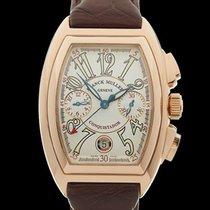 Franck Muller Conquistador Chronograph 18k Rose Gold Gents...