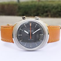 Omega Chronostop Original Driver Vintage Serviced With Warranty