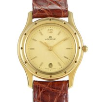 Lorenz Yellow gold 24mm Quartz 13344AB pre-owned