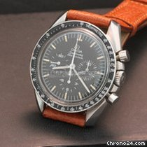 5b81dd1e0aba Omega SPEEDMASTER 38 Chronograph Co-Axial-Steel Case Leather... for ...
