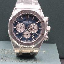Audemars Piguet Royal Oak Chronograph Blue Boutique NEW