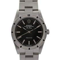 Rolex Air-king 34mm In Acciaio Ref. 14010m