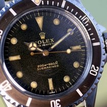 Rolex Submariner 5513   Gilt Underline Meter first PCG 1963