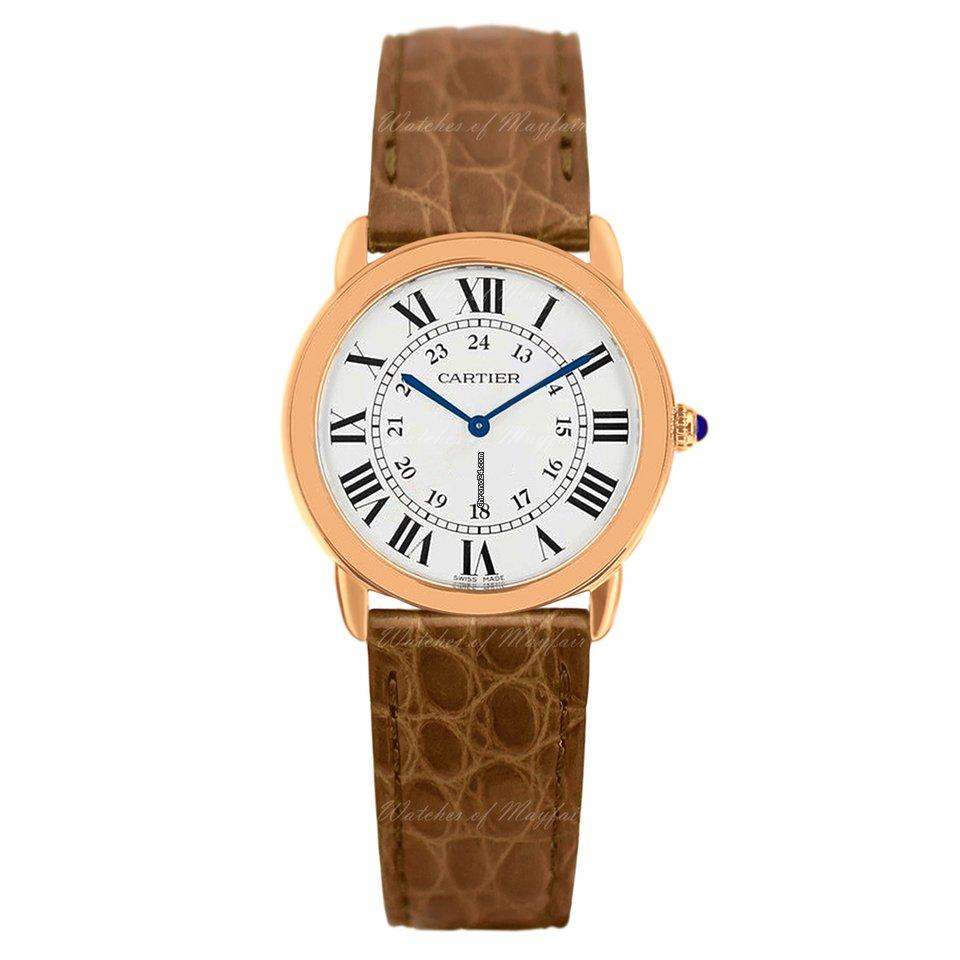 f753f6b56aa Comprar relógio Cartier Ronde Solo de Cartier