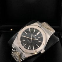 Audemars Piguet Royal Oak Selfwinding Steel 41mm Black No numerals